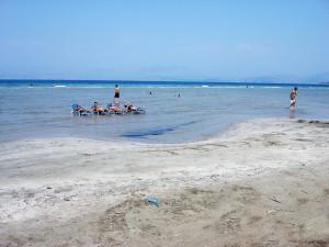 παραλία απραός κέρκυρα